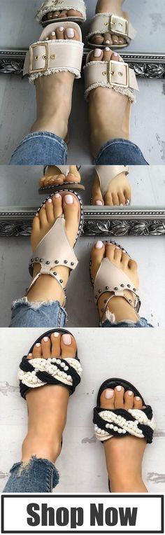 283f41005 Women Casual Comfy Trendy Sandals   Slippers
