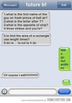 Hahahaha... That's hilarious!