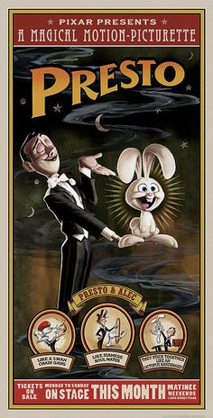 Upon seeing this in theaters my mom and I just looked at each other and shared a look, knowing full well that I am in fact the rabbit.