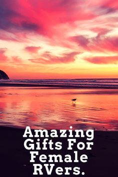 Amazing Gifts For Female RVers- Are you looking for a great gift for the special girl in your life? Amazing Gifts, Special Girl, Great Christmas Gifts, Alaska, The Good Place, Best Gifts, Birthdays, That Look, Camping