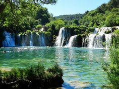 Krka national park - Croatia- Been here 'cept the water was too cold to go in :(