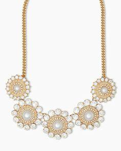 Fallen Snowflakes Necklace