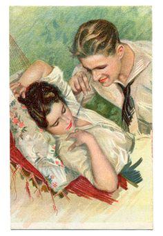 Vintage et cancrelats: Amour