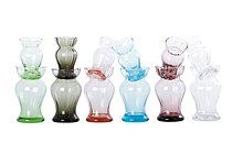 Vases from House Doctor - love them! Doctor Love, Bulb Vase, Tulips In Vase, Welcome To My Page, House Doctor, Vases, Glass Vase, Colours, Bulbs