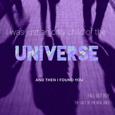 The last Of the real ones Music Is Life, My Music, Fall Out Boy Lyrics, Child Of The Universe, Soul Punk, Band Wallpapers, Three Days Grace, Real One, Purple Aesthetic