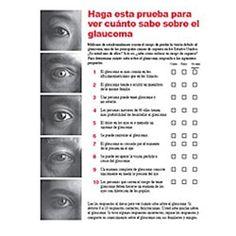 Esta publicación ayuda a las personas a diferenciar los mitos de la realidad sobre el glaucoma. Estos datos pueden ser esenciales para proteger la visión.
