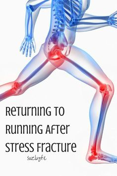 Coach Suz's Plan and Advice for Returning to Running After Stress Fracture. Suzlyfe.com @suzlyfe