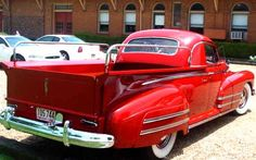 1942 Buick Truck. Maintenance/restoration of old/vintage vehicles: the material for new cogs/casters/gears/pads could be cast polyamide which I (Cast polyamide) can produce. My contact: tatjana.alic@windowslive.com