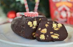 Κορμός σοκολάτας με κουραμπιέδες -Festive Recycling: Chocolate Salami Recipe by Gabriel Nikolaidis and the Cool Artisan!