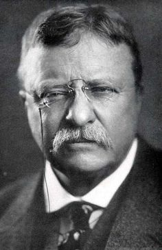 Theodore Roosevelt, 26th president of the United States 1901-1909.