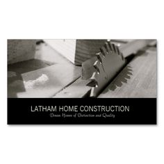 Home Construction Or Builder Business Card Design. I love this design! It is available for customization or ready to buy as is. All you need is to add your business info to this template then place the order. It will ship within 24 hours. Just click the image to make your own!