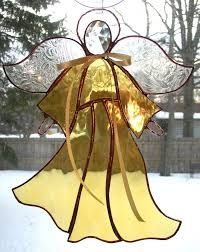 Afbeeldingsresultaat voor 3d stained glass angels patterns
