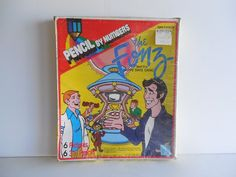 This unopened, retro collectible toy game Paint by Pencil set of the Happy Days…