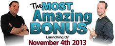 http://mostamazingbonus.com/c/155623 Most Amazing Bonus Spread the word about our Most Amazing Bonus Ever for the launch of iMotion Video to win over $13,000 in super cool prizes!