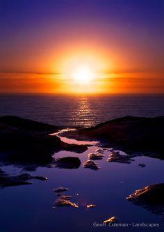 Bundeena Cliffs, Royal National Park, Sydney, Australia.