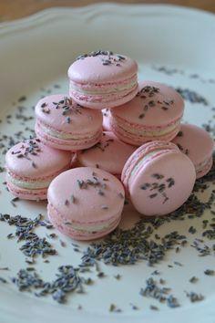 Lavender & Honey Macarons, via Cake Central Someone make me these!!