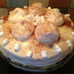 Coffee Meringue Cake