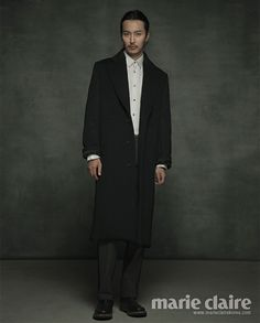 Stunning Kim Nam Gil in December Issue of Marie Claire