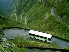 The highest highway in all of the Philippines, the Halsema Highway takes about six hours to traverse. Despite its zigzag design, it has a relatively low number of deaths given its extreme altitudes, and looks fantastic.