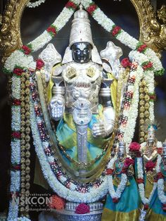 Today's (30-June-2017) Netra Darshan of Sri Srinivasa Govinda @ ISKCON Bangalore.