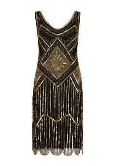 charleston dress gold - Hledat Googlem