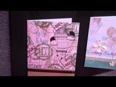 Hero Arts Card Making Ideas with Sizzix Framelits or Frame Cut Dies.