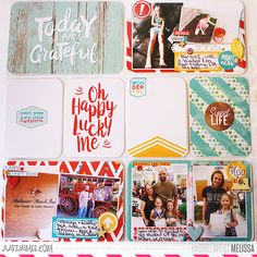 Storyteller Riley Scrapbooking Collection by Just Jaimee; Other products from Freckled Fawn, Studio Calico, American Crafts, My Mind\'s Eye, and other miscellaneous sources