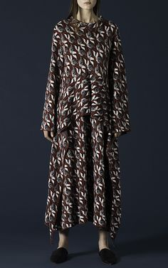 Layered Ruffle Dress by TAK.ORI for Preorder on Moda Operandi