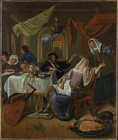 The Metropolitan Museum of Art - The Dissolute Household