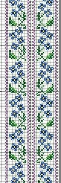 SENCILLEZ Do you sell this pattern for the cross stitching? Regards Carmen Wacher from Mexico Cross Stitch Bookmarks, Cross Stitch Borders, Cross Stitch Flowers, Cross Stitch Charts, Cross Stitch Designs, Cross Stitching, Cross Stitch Embroidery, Cross Stitch Patterns, Bead Loom Patterns