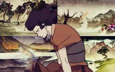 The Legend of Korra / Avatar Wan / Avatar Wan, Korra Avatar, Team Avatar, Running The Gauntlet, Avatar World, Avatar Series, Avatar The Last Airbender Art, Korrasami, Fan Art