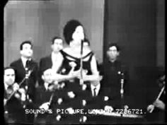 سليمة مراد - Salima Murad Iraqi Jewish singer and wife of famous Nazem Ghazali