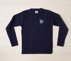 Henley #4 The Bosun Henley / north sea clothing £87
