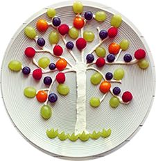 #Kinderfeestje #fruitboom #recept