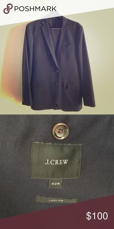 J. Crew Navy Ludlow Suit Purchased in 2016. Rarely worn. J. Crew Suits & Blazers Suits