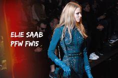 #Paris #FashionWeek #FW15 : #ElieSaab
