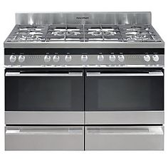 range cooker we had in our last home which has the most capacious ovens .... if you aren't going for an Aga that is.