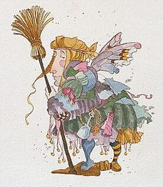 James Christensen - The Cleaning Faerie