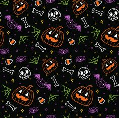 Doodle cute monster background Vectors, Photos and PSD files Witchy Wallpaper, Cute Fall Wallpaper, Halloween Wallpaper Iphone, Holiday Wallpaper, Halloween Backgrounds, Halloween Mono, Halloween Canvas, Halloween Poster, Cute Halloween