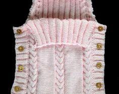 Knitting Pattern Baby Sleeping Bag Cocoon by ToysWereUsPatterns