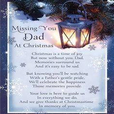 Missing Dad At Christmas
