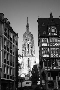 frankfurt cathedral | been there. Beautiful.