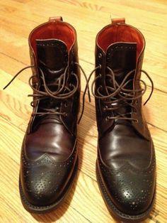 Allen Edmonds Dalton boots