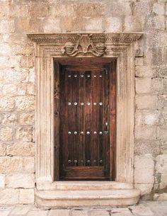 Door - Skopje Fortress 6th Cen AD Macedonia - 2395RG