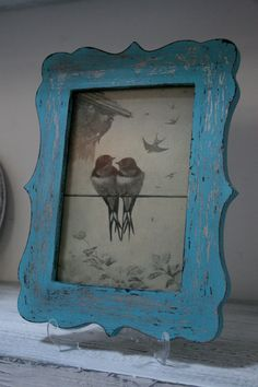 Hand Painted Rustic Shabby Chic Vintage Distressed by TurkishBits