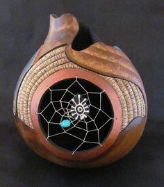 *Gourd Art by Mary & Gary Gehley