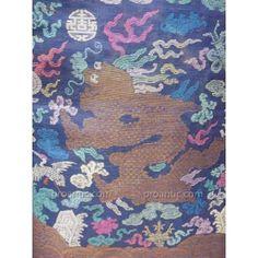 Robe Dragon Ou Jifu, En Gaze De Soie ou kési Brodée Chine Fin XIXe Famille Impériale
