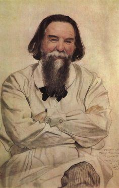 """""""Portrait of P.N. Sakulin, 1923, Boris Kustodiev """""""