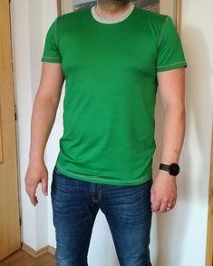 5ba1ddf70 Střih na pánské klasické tričko s krátkými rukávy ve velikostech S-4XL.  Střih je
