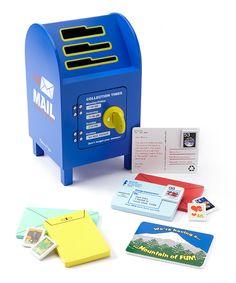 Melissa & Doug 'Stamp & Sort' Mailbox Set